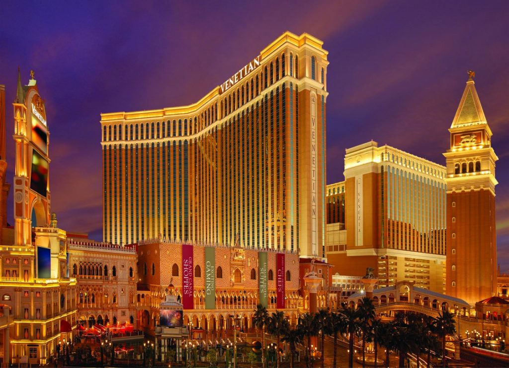 The Venetian Resort in Las Vegas