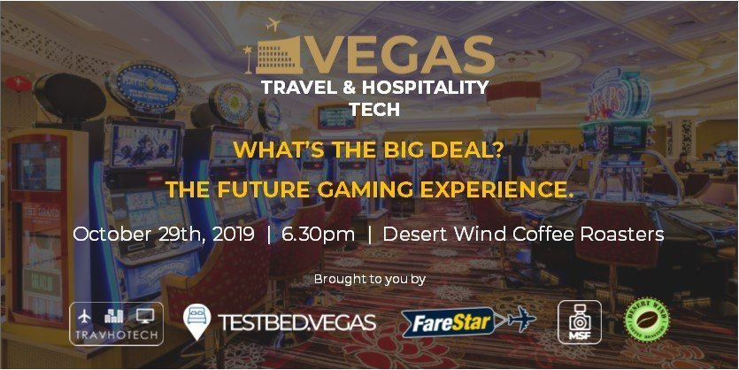 Announcement for Testbed Vegas Event - Gaming Tech